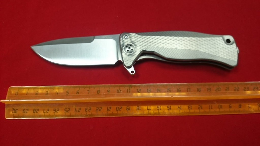 Нож керамический кухонный фрутоножик Samura Eco-Ceramic SC-0011ORG