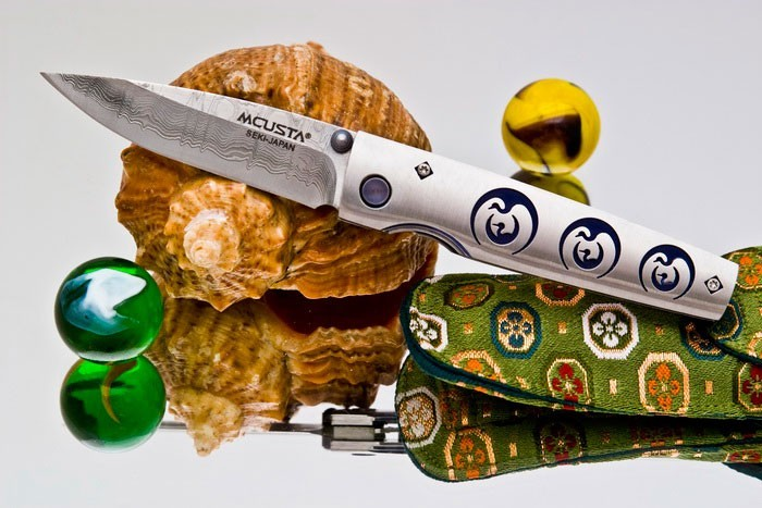 Фото - Складной нож Mcusta Tsuru MC-93D ,VG-10,420J2