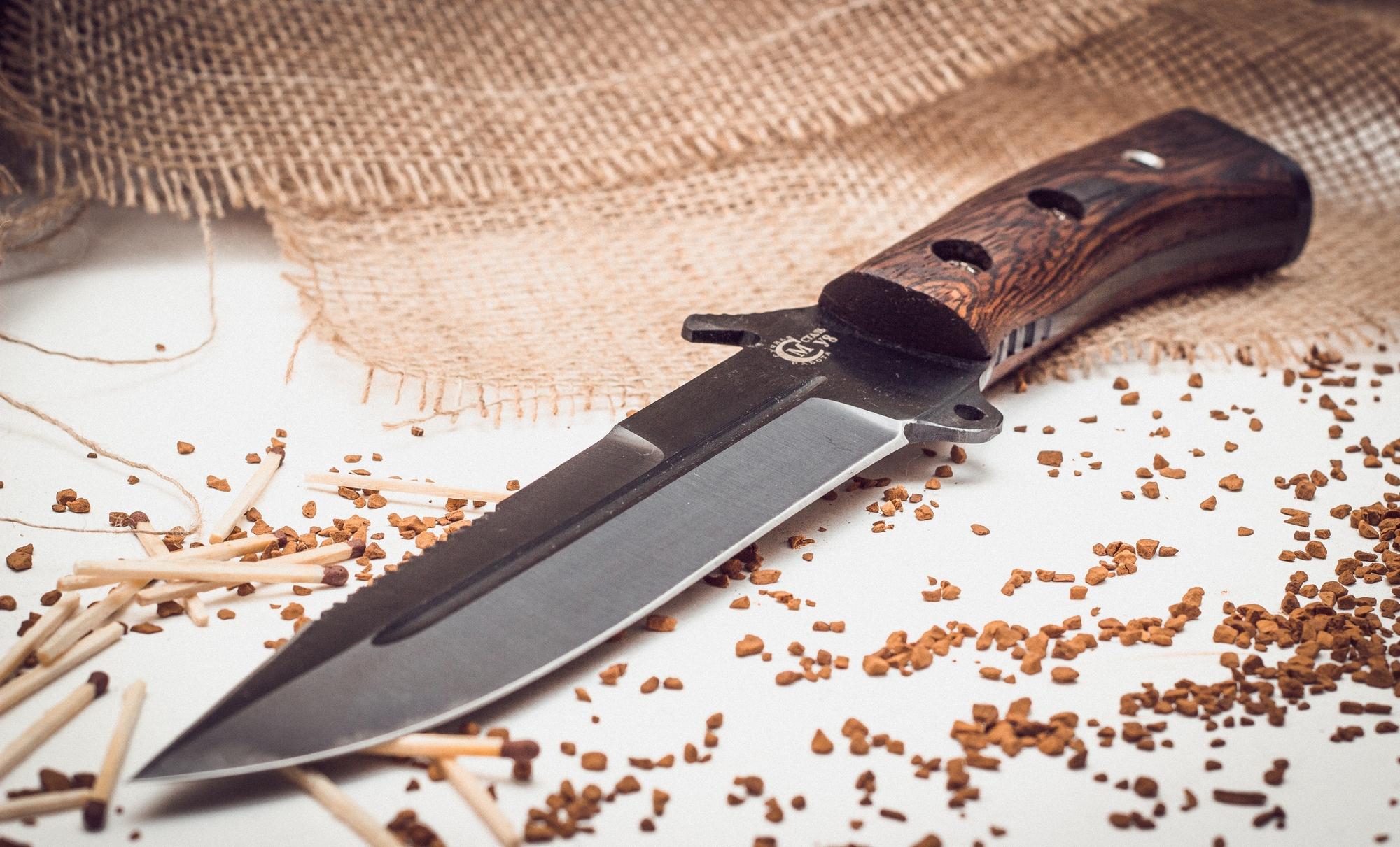 Фото 2 - Нож для выживания «Смерч» У8 от Кузница Семина