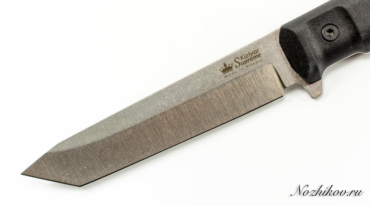 Фото 7 - Тактический нож Aggressor 420HC, Satin+SW, Kizlyar Supreme