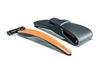 Подарочный набор Bolin Webb R1, бритва R1-S оранжевая, дорожный чехол - Nozhikov.ru