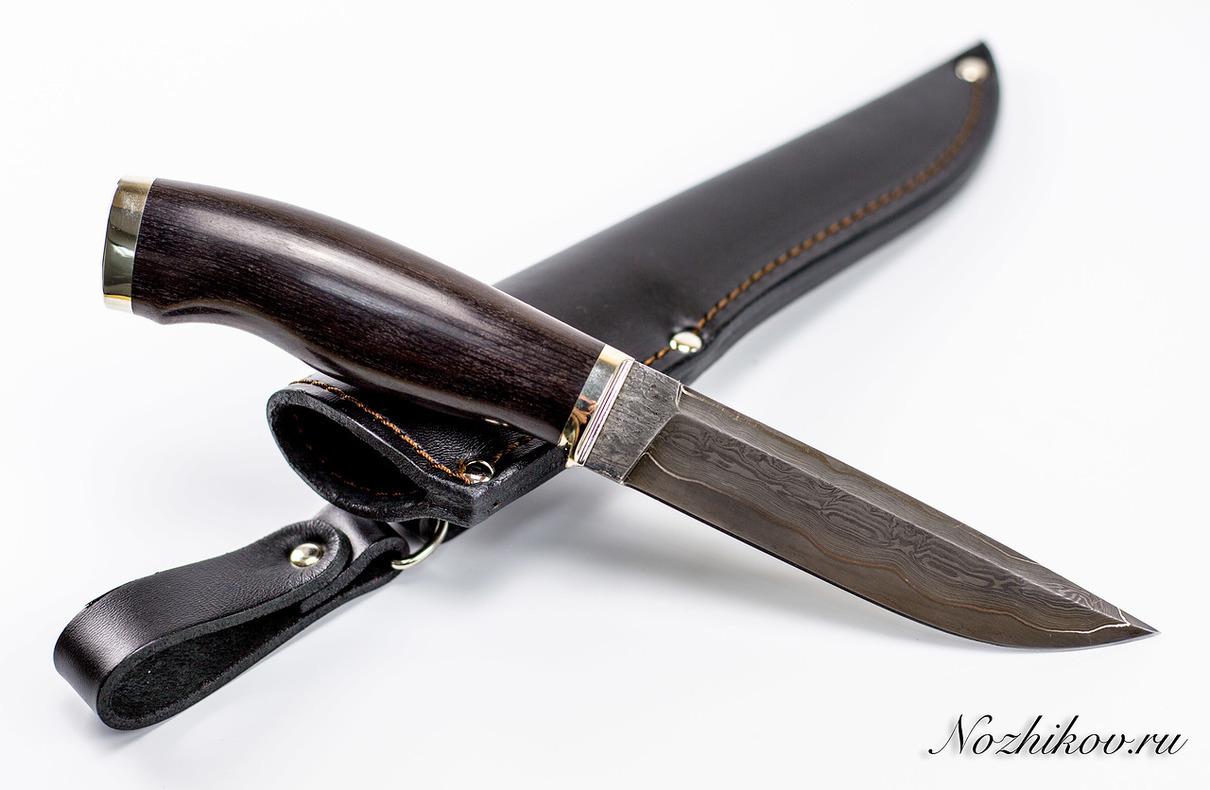 Нож Рабочий №35 из ламинированной сталиНожи Павлово<br>Сталь: Ламинированная стальРукоять: рукоять граб, литье мельхиорДлина клинка (мм.): 133 Наибольшая ширина клинка (мм.): 26 Толщина обуха клинка (мм.): 3.6 Толщина подвода (мм.): 0,5-0,7 Твердость стали: 59-60Hrc Общая длина ножа (мм.): 255 Поверхность клинка: Полировка, следы ковки Спуски клинка: Вогнутая линза<br>Клинок ножа выполнен из ламинированной стали (Ламинат с никелем).<br>