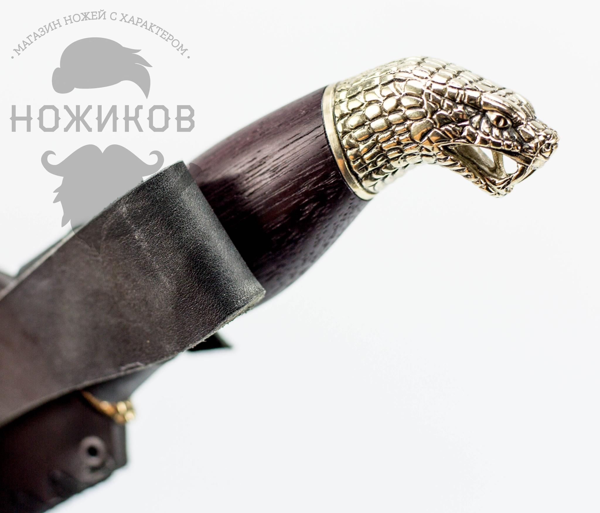 Фото 6 - Авторский Нож из Дамаска №66, Кизляр