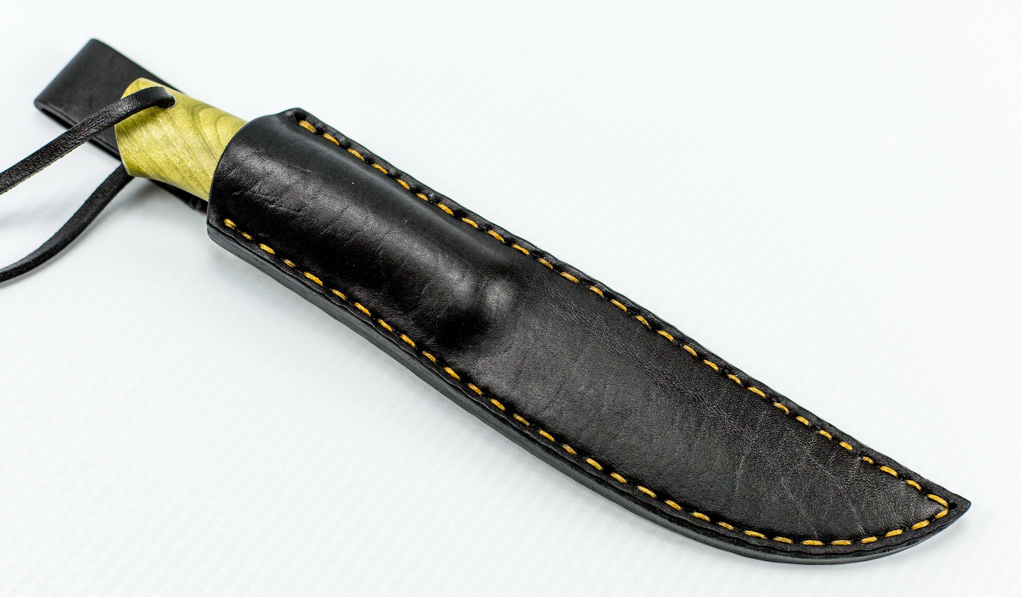 """Нож Лиман, сталь D2, корень тополя-1 от Магазин ножей """"Ножиков"""""""
