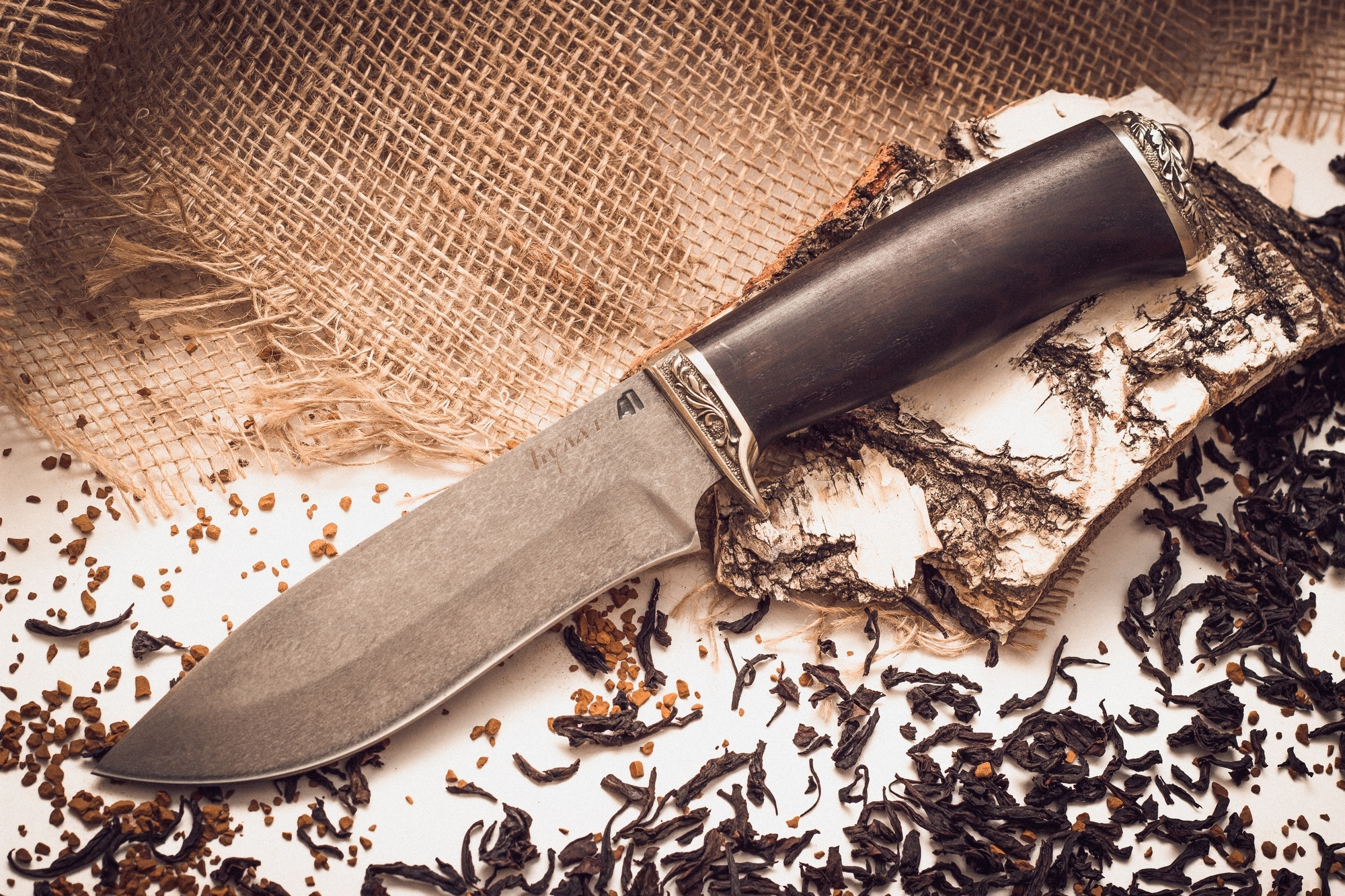 Булатный нож 2Ножи Ворсма<br><br>