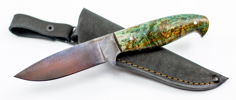 Нож туристический Морж, быстрорез, сталь Р12