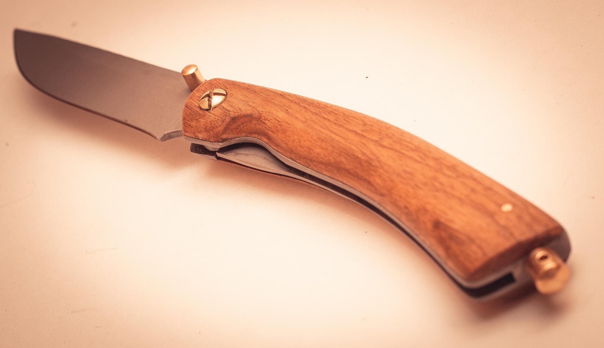 Фото 4 - Складной нож Помор, сталь 95х18, орех от Марычев