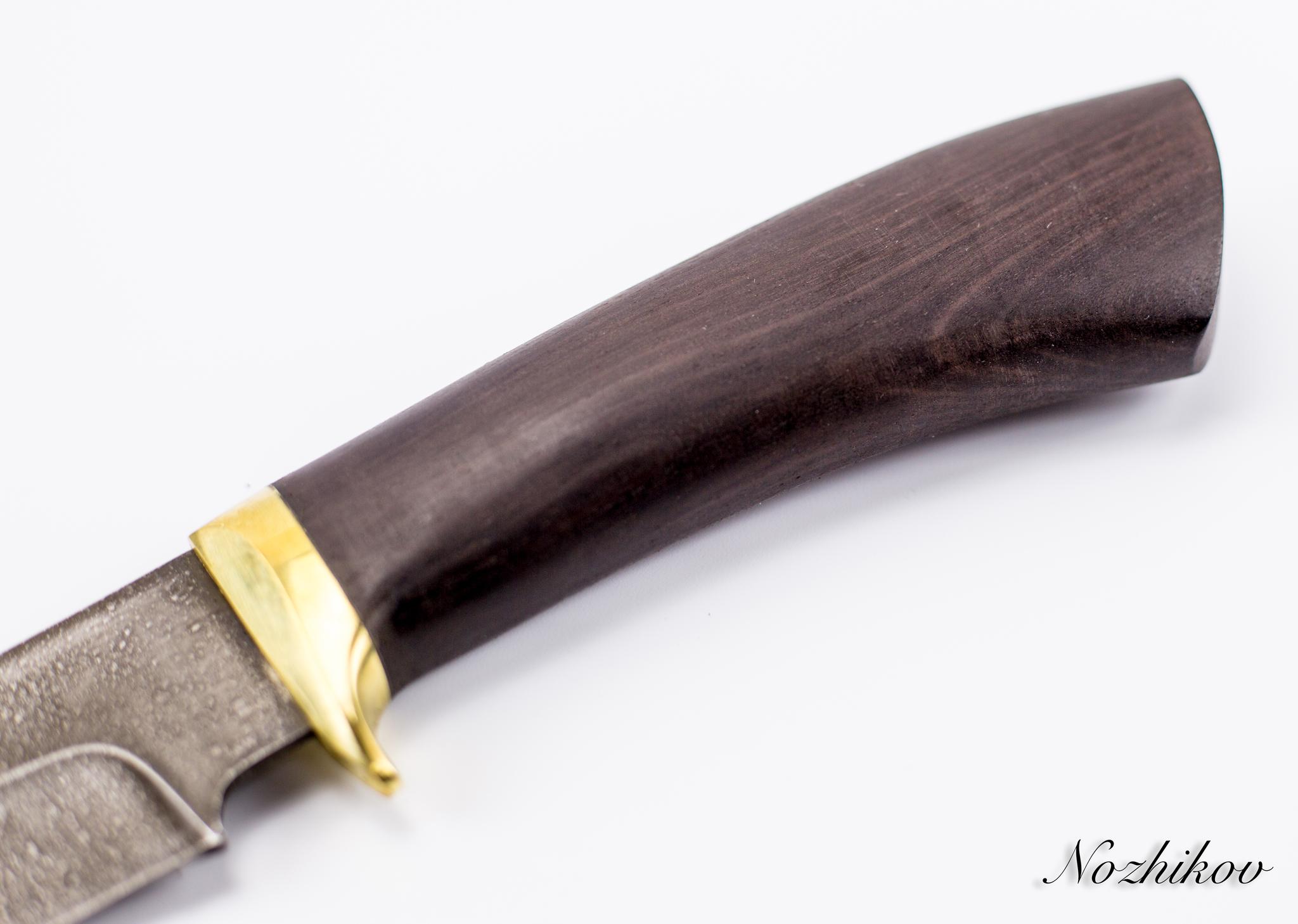Фото 3 - Нож Хищник-2, сталь ХВ5, граб от Промтехснаб