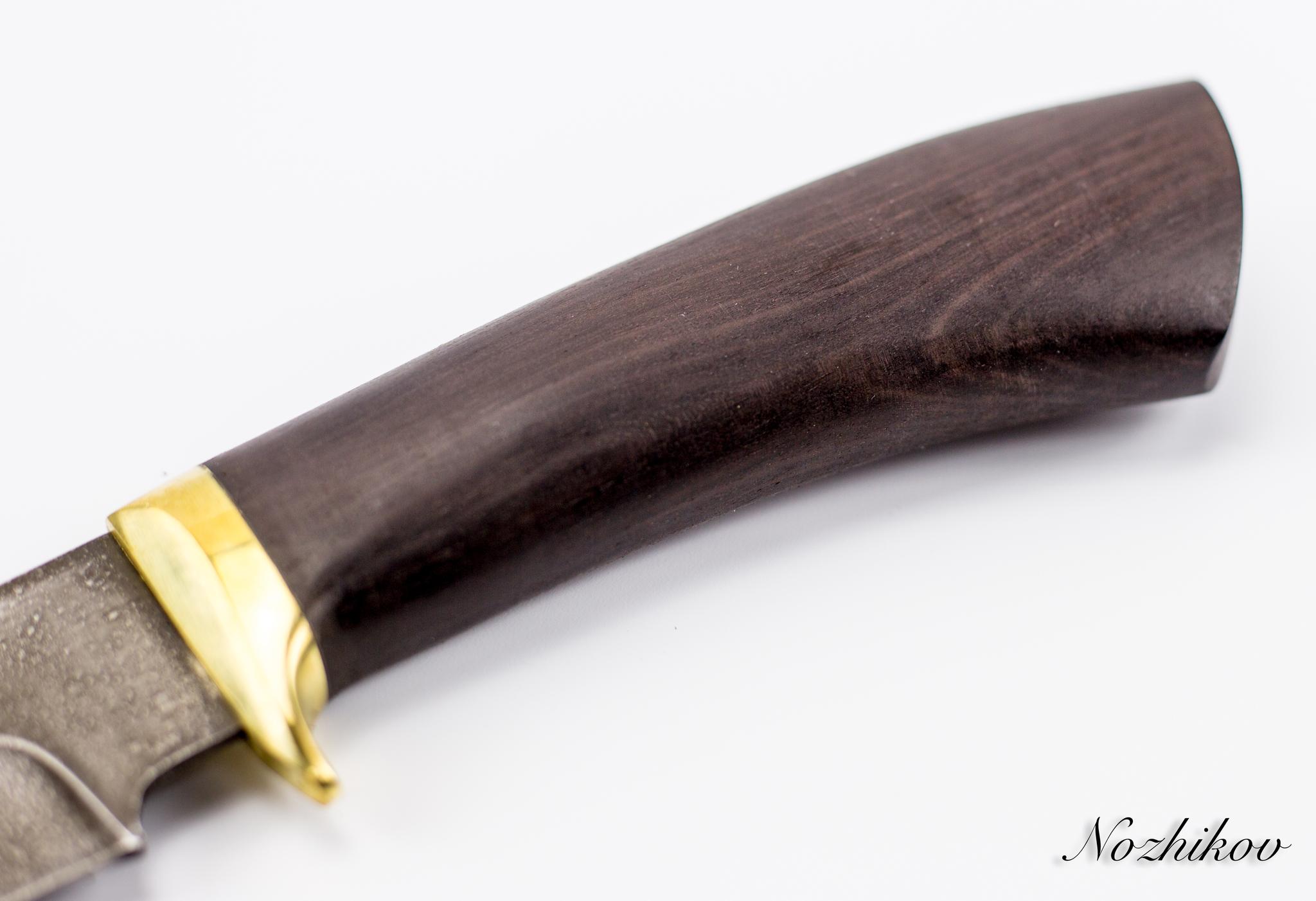 Фото 5 - Нож Хищник-2, сталь ХВ5, граб от Промтехснаб
