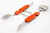 Походный нож 6-в-1, оранжевый - Nozhikov.ru