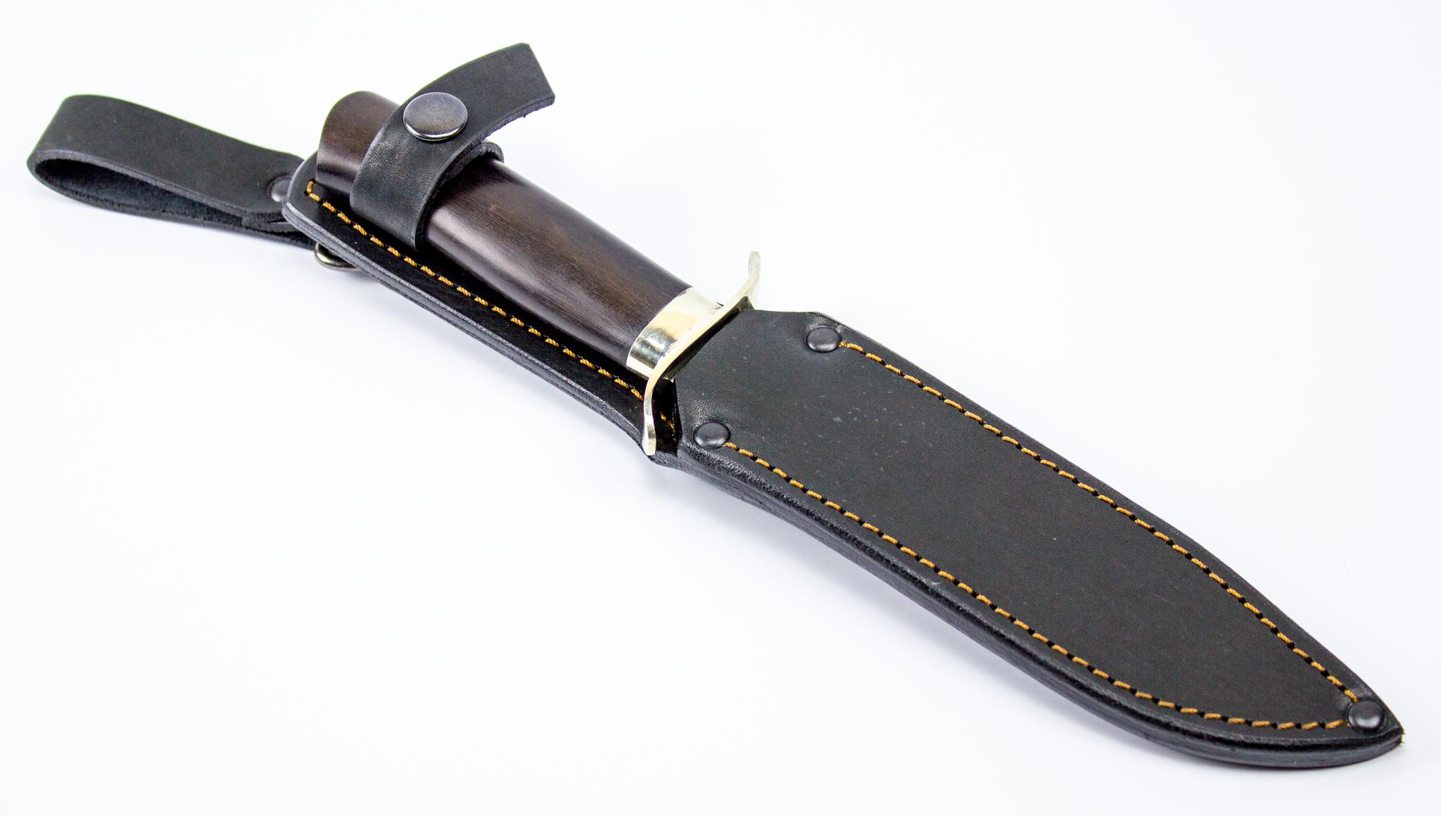 Нож разведчика НР-40, мельхиор, сталь 95х18
