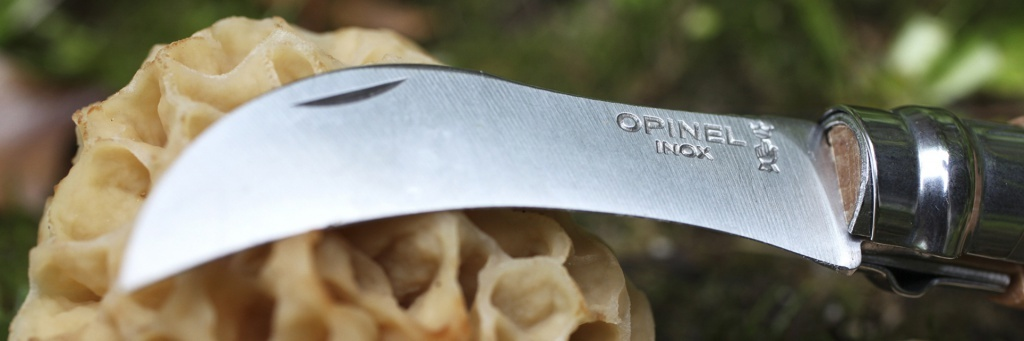 Нож складной грибной Opinel №8 VRI