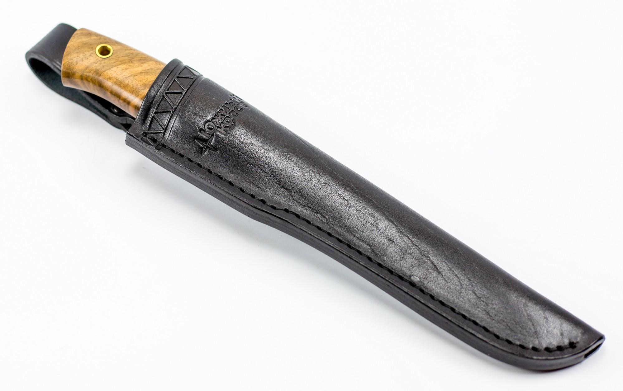 Нож универсальный Длинный Джек, D2, орех