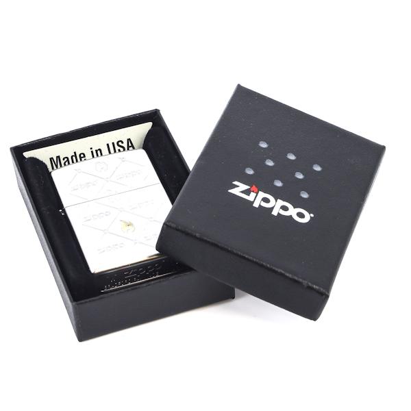 Фото 3 - Зажигалка ZIPPO Zippos, латунь с никеле-хромовым покрытием, серебристый, матовая, 36х12x56 мм