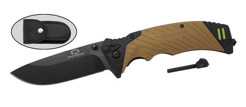 Фото - Нож складной With Armour WA-031TN, сталь 440C от WithArmour