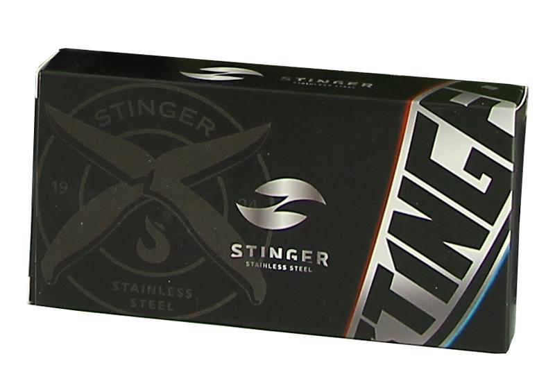 Нож складной с двумя лезвиями Stinger FK-A137, сталь 420, алюминий