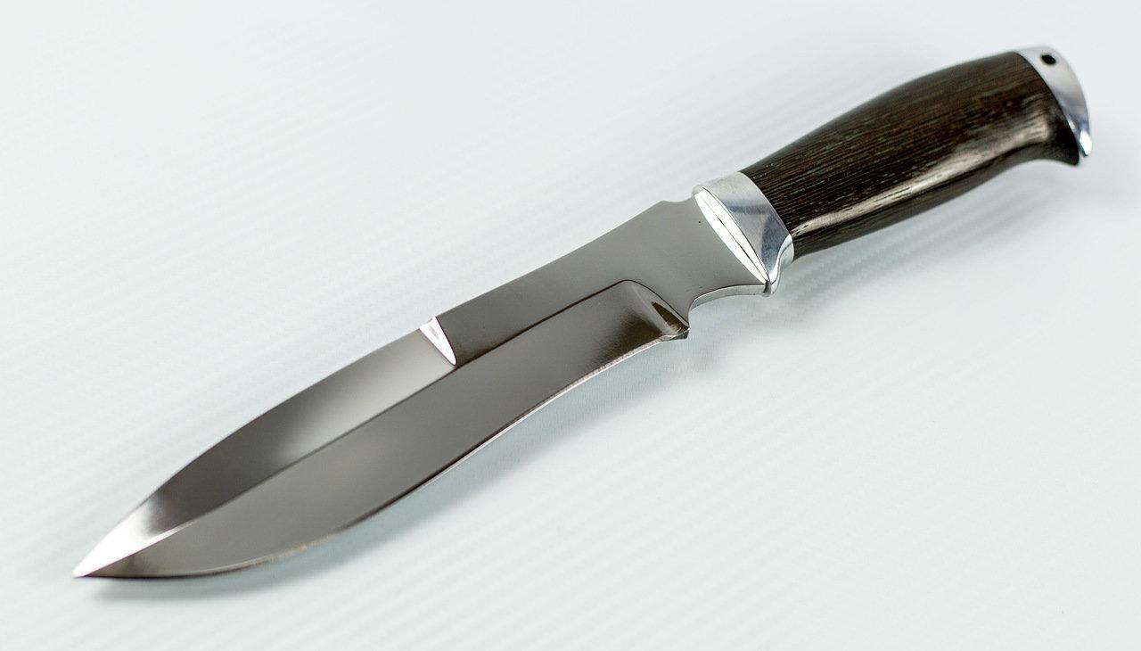 Фото 3 - Нож Шаман, Х12МФ от Павловские ножи