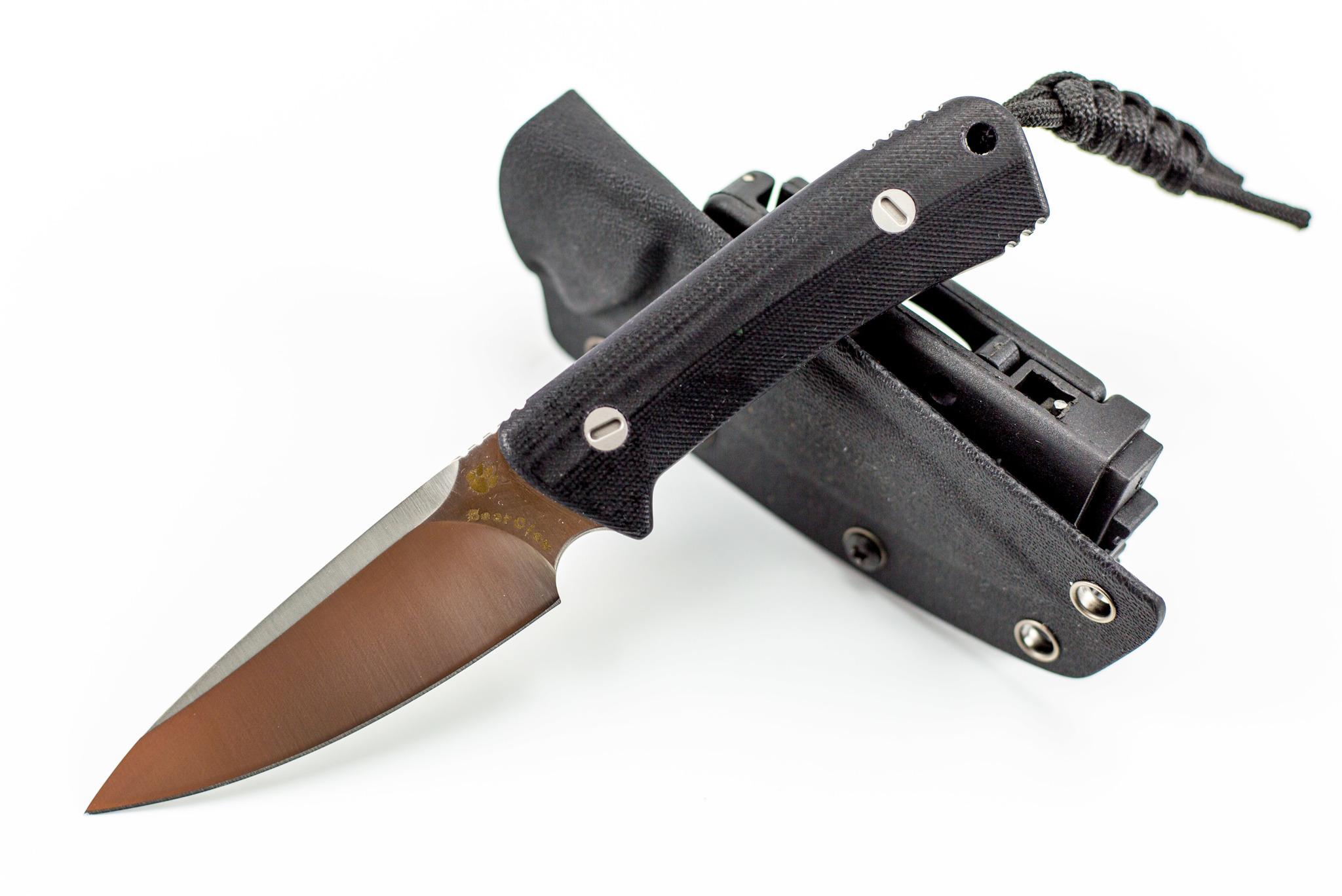 "Нож Bear Claw Blade Satin от Магазин ножей ""Ножиков"""