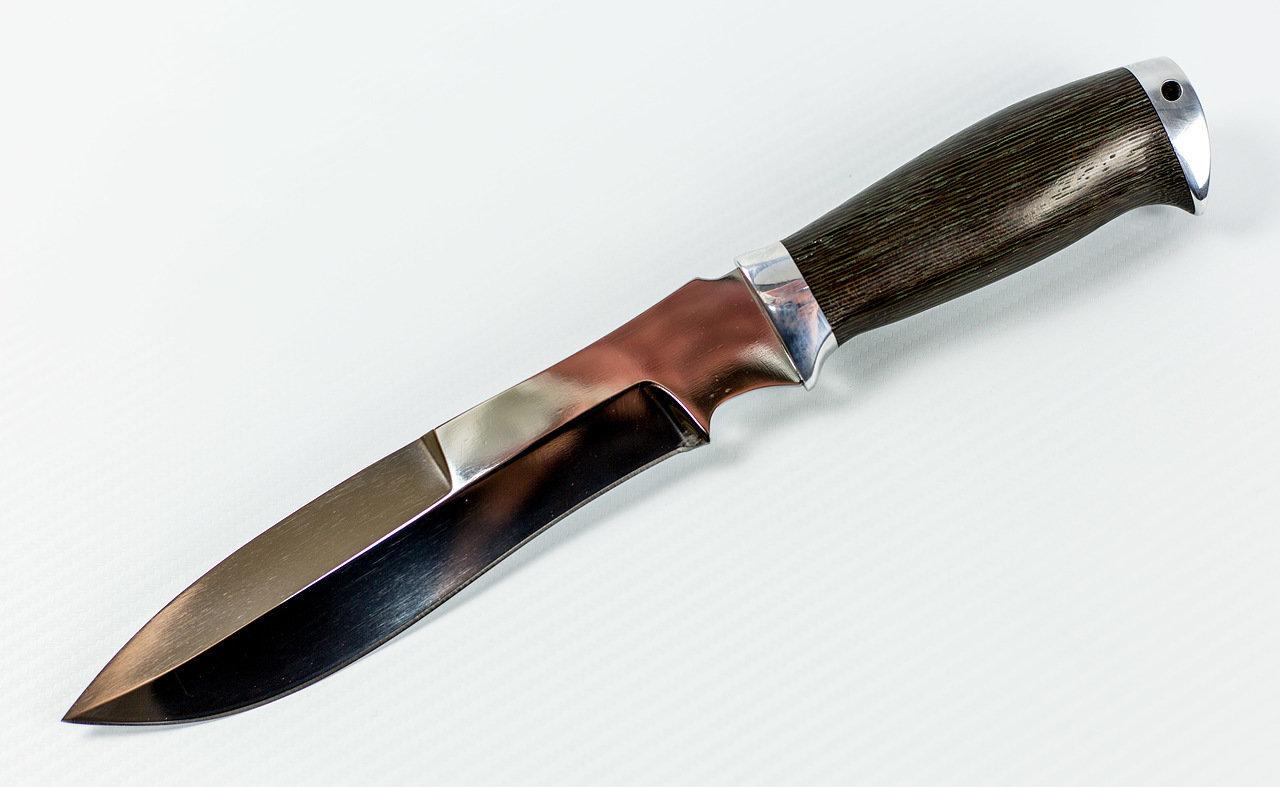 Фото 2 - Нож Шаман, Х12МФ от Павловские ножи