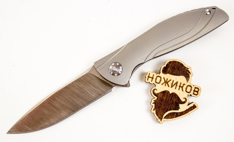 Складной нож chiNeon S35VN, серыйРаскладные ножи<br>Универсальный складной нож<br>