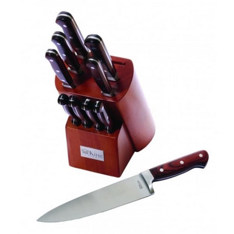 Набор 10 кухонных ножей Ontario набор кухонных ножей vine jiro