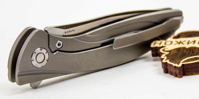 Складной нож chiNeon S35VN, серый