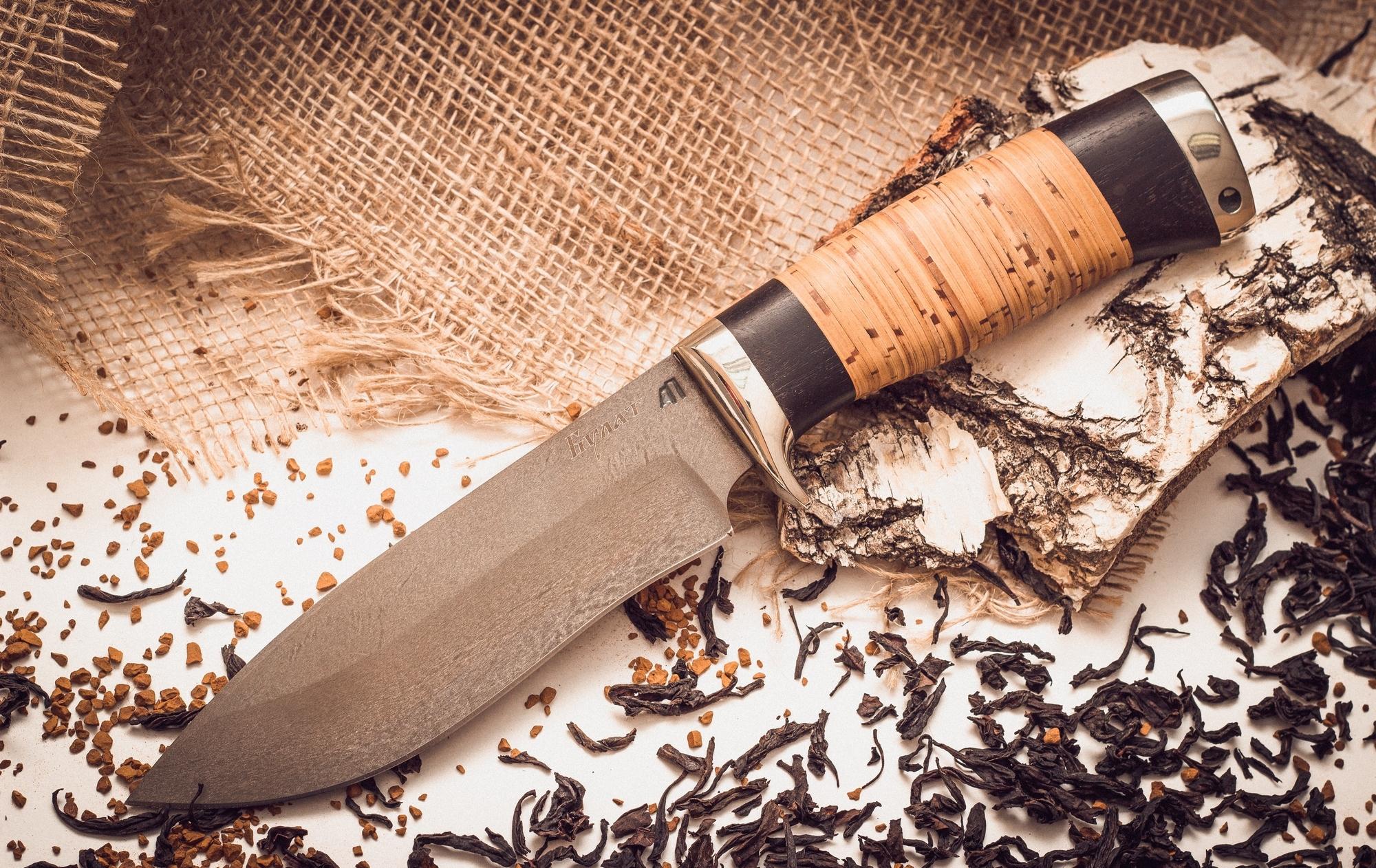 Булатный нож 1Ножи Ворсма<br><br>