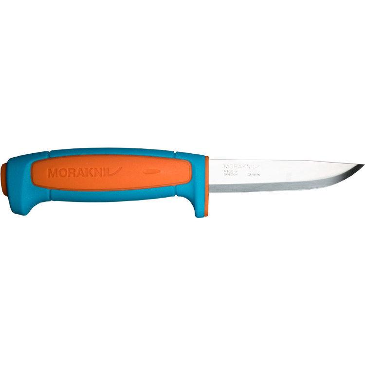 Фото - Нож с фиксированным лезвием Morakniv Basic 511, углеродистая сталь, рукоять пластик, синий
