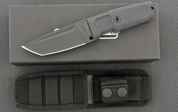 Нож с фиксированным клинком T4000 C Black