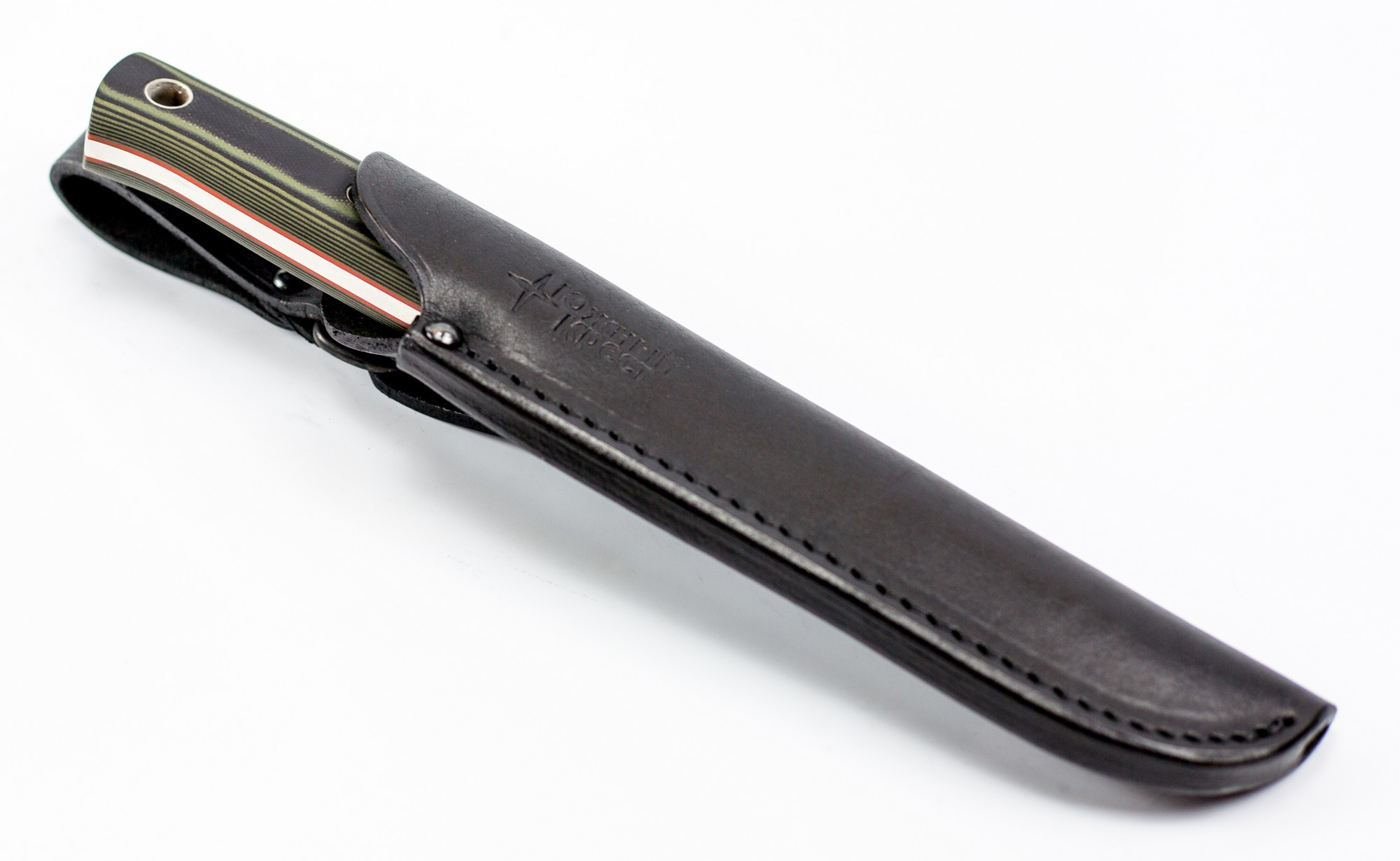 Нож туристический M2, сталь N690,  G10
