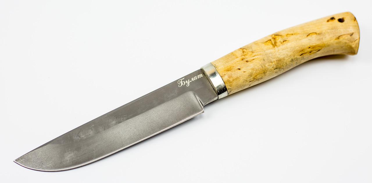 Фото 2 - Нож Хищник булат, карелка от Мастерская Климентьева