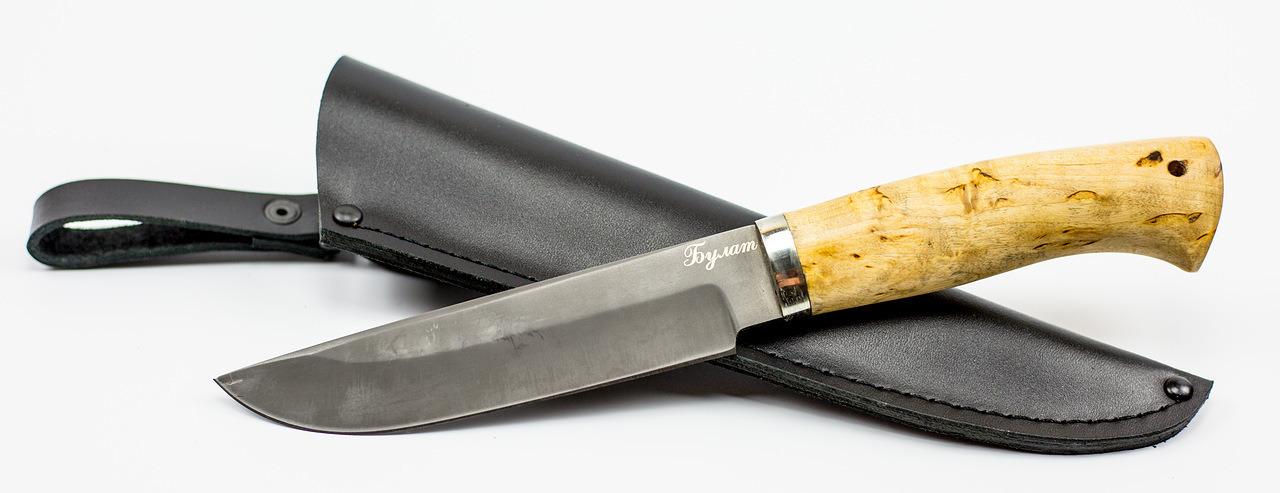 Фото 5 - Нож Хищник булат, карелка от Мастерская Климентьева