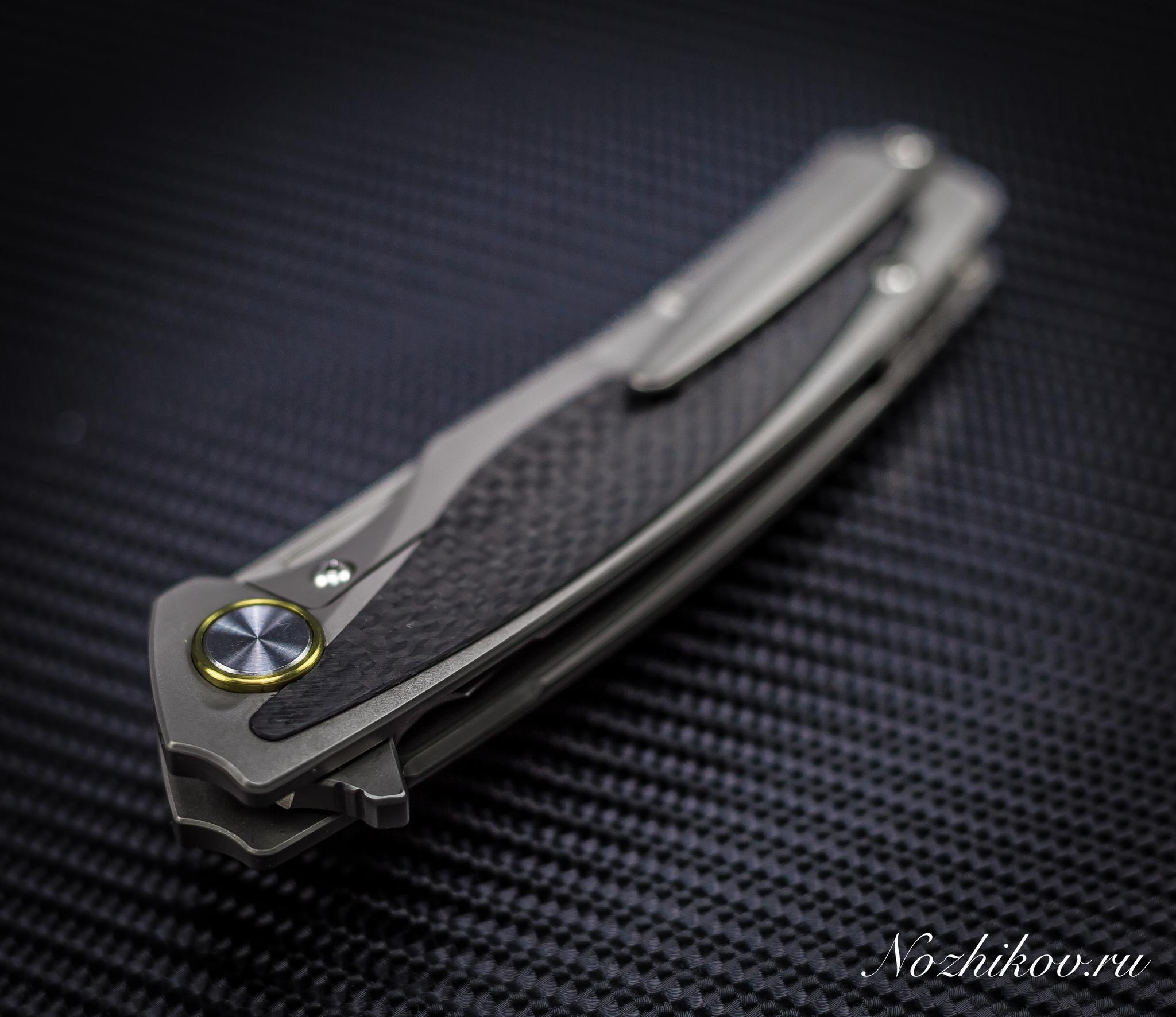 Фото 7 - Складной нож Bestech Predator BT1706B, сталь CPM-S35VN, рукоять титан от Bestech Knives