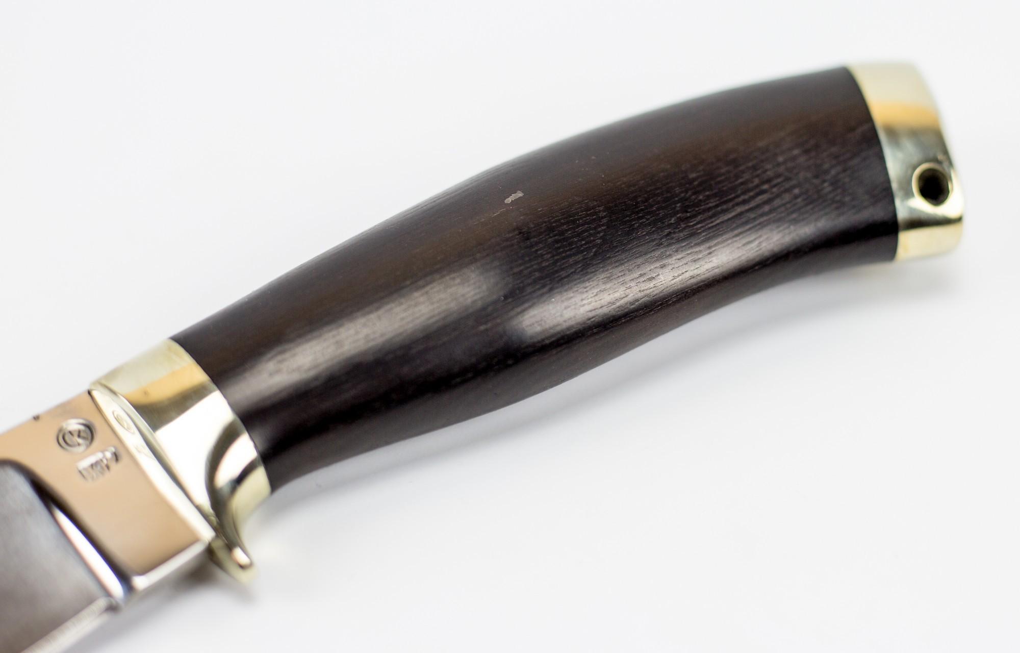 Фото 2 - Нож Лесник, сталь Х12МФ от Ножи Крутова