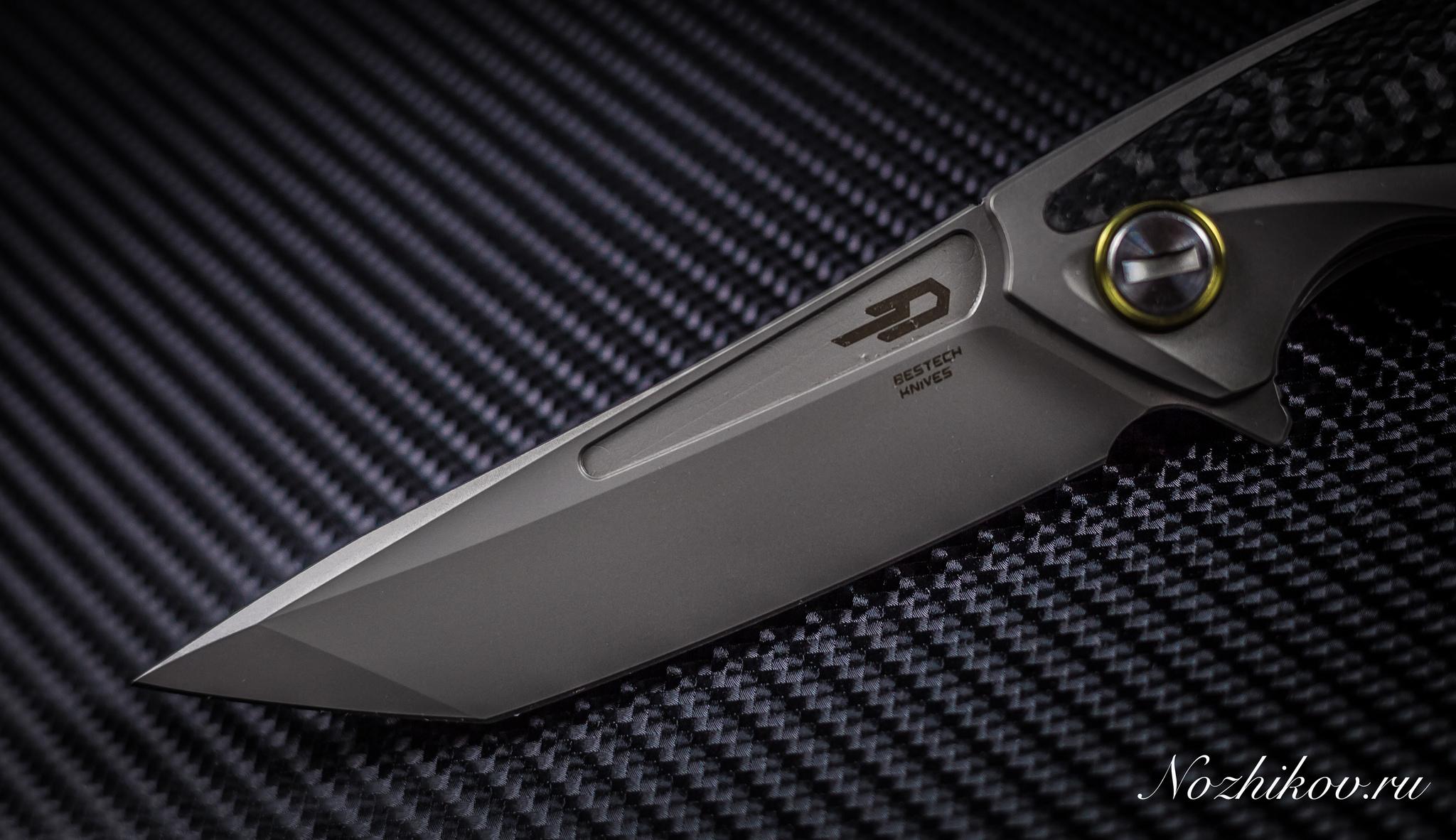 Фото 9 - Складной нож Bestech Predator BT1706B, сталь CPM-S35VN, рукоять титан от Bestech Knives