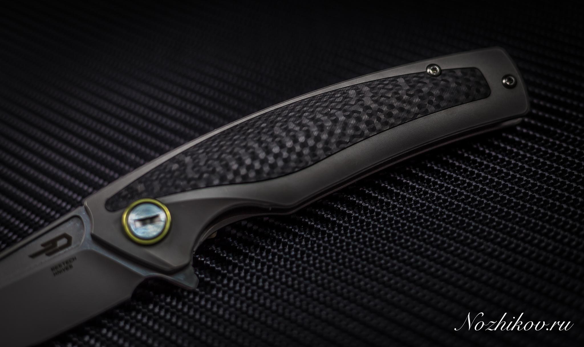 Фото 10 - Складной нож Bestech Predator BT1706B, сталь CPM-S35VN, рукоять титан от Bestech Knives