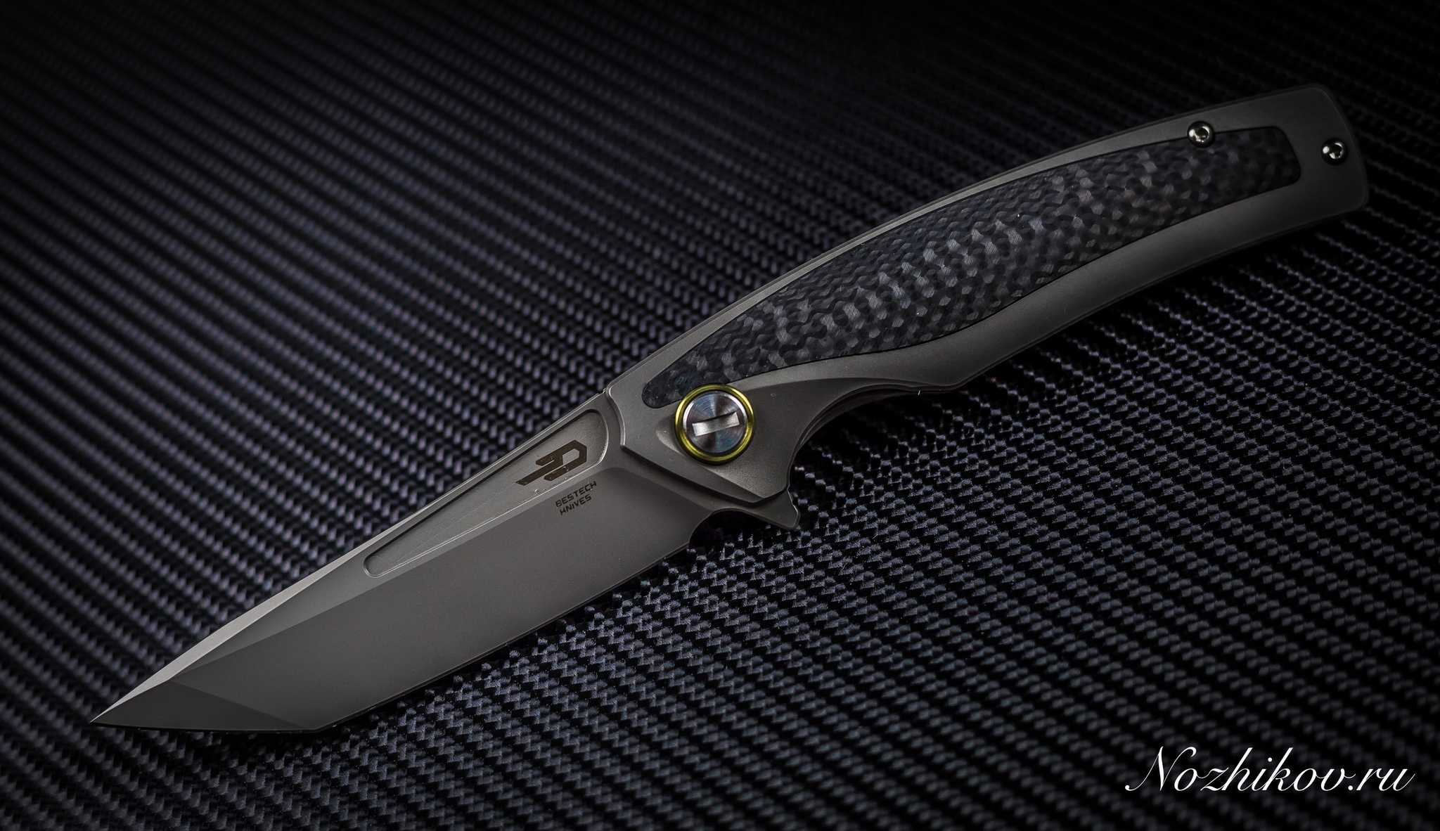 Фото 5 - Складной нож Bestech Predator BT1706B, сталь CPM-S35VN, рукоять титан от Bestech Knives