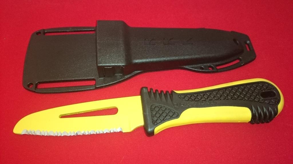 Фото - Спасательный нож для яхтсменов Fantoni, Race Rescue, FAN/PC001YeL, сталь AISI 425 mod, рукоять термопластик GRN