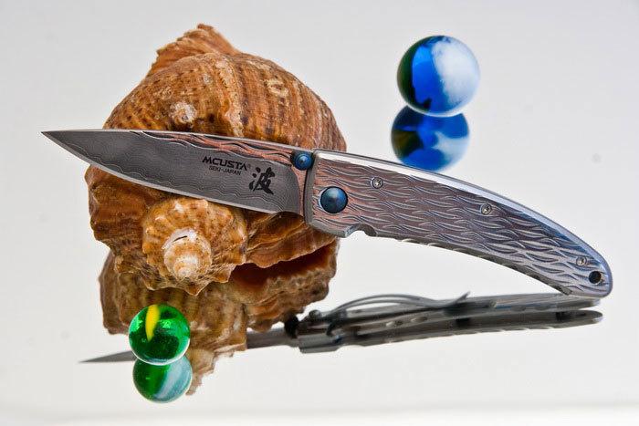 Фото - Складной нож Mcusta MC-0112D, VG-10, 420J2