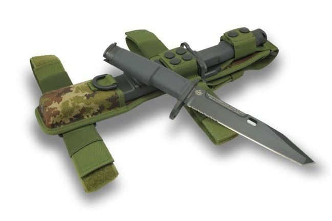 Фото 3 - Нож с фиксированным клинком Extrema Ratio Fulcrum Mil-Spec Bayonet Ranger, сталь Bhler N690, рукоять пластик