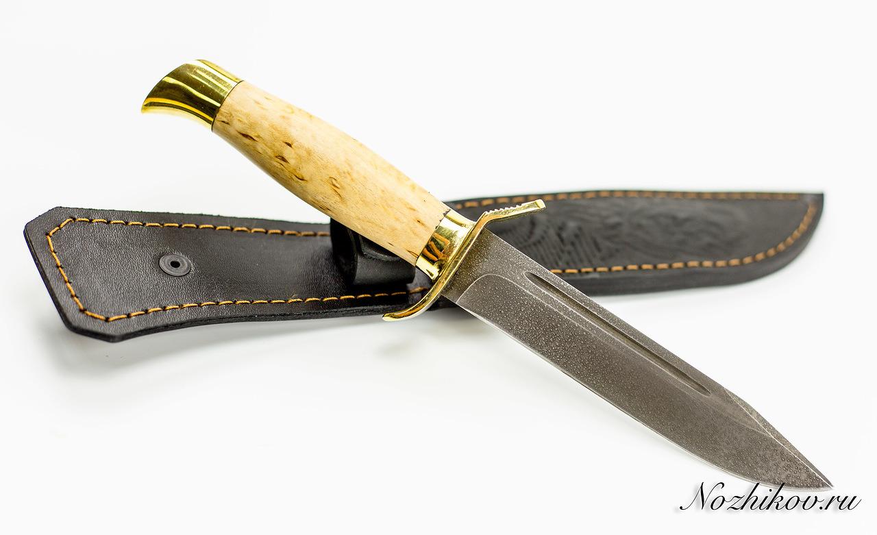 Фото 3 - Нож НР-40, сталь ХВ5, карельская береза от Промтехснаб