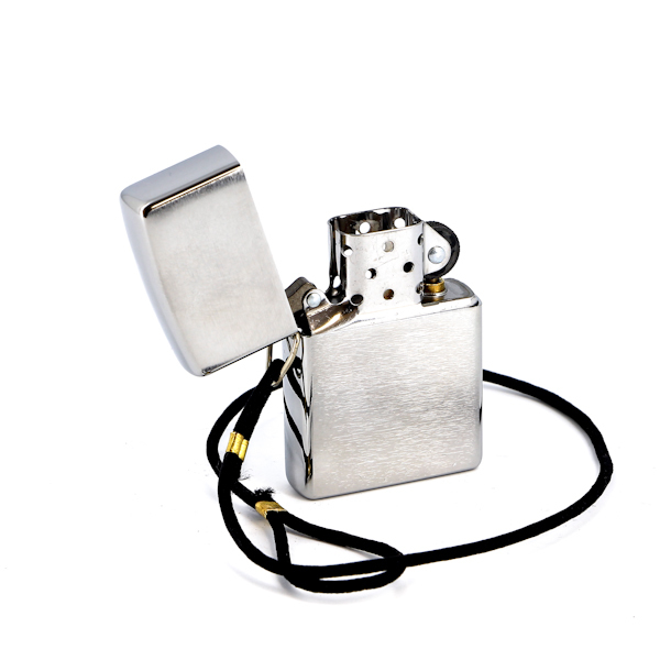 Фото 2 - Зажигалка ZIPPO Brushed Chrome, латунь с никеле-хромовым покрытием, серебристый, матовая, 36х56х12мм