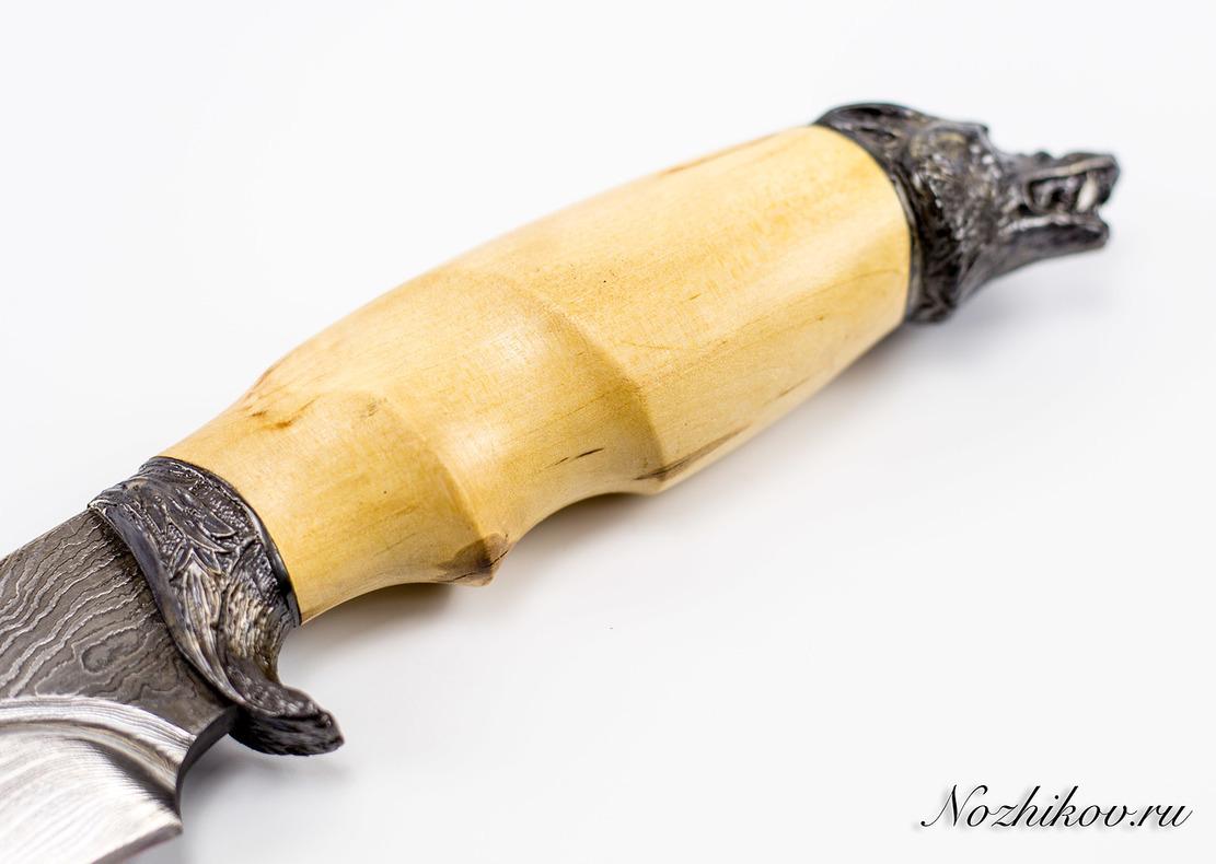 Фото 7 - Авторский Нож из Дамаска №45, Кизляр от Noname