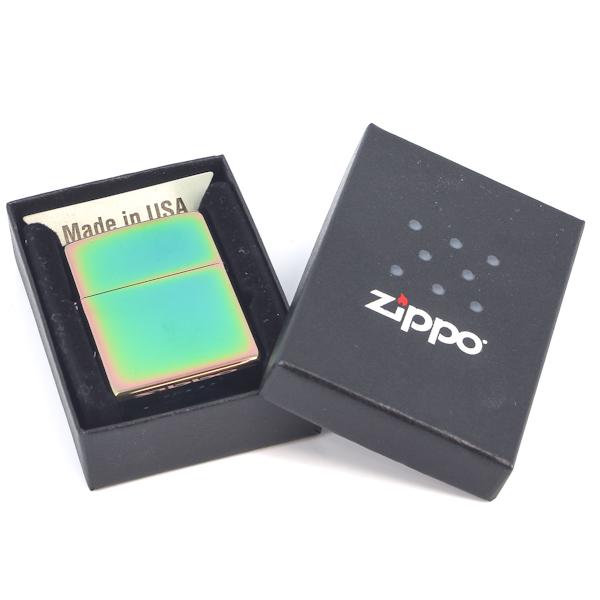 Фото 3 - Зажигалка ZIPPO Classic с покрытием Spectrum™, латунь/сталь, разноцветная, глянцевая, 36x12x56 мм