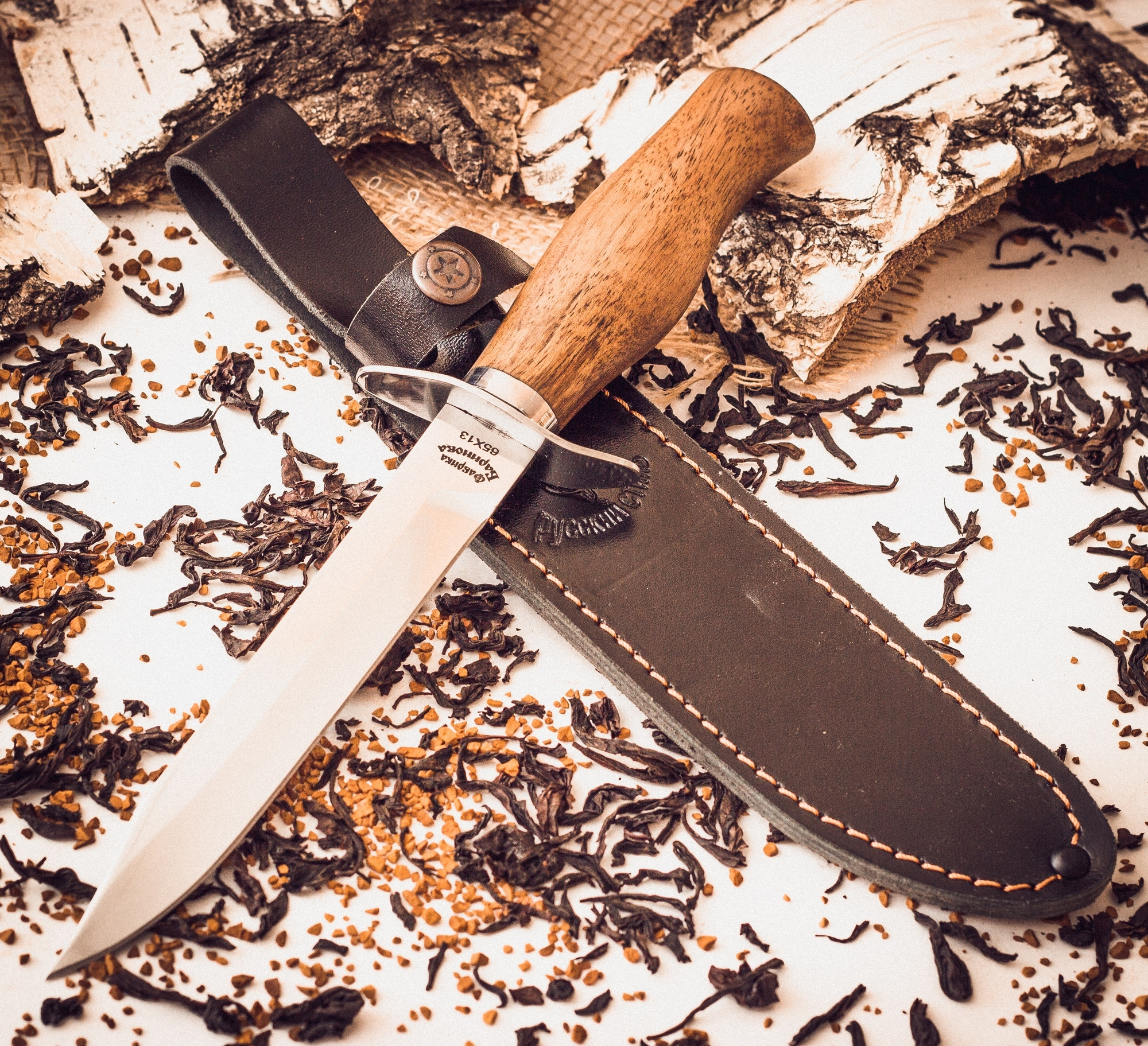 Фото 4 - Нож разведчика, Фабрика Баринова