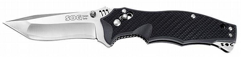 Складной нож Vulcan TantoРаскладные ножи<br>Vulcan представляет собой удачное воплощение ножа, который может использоваться как в городе, так и на природе. Мощный клинок с отличнымы режущими свойствами, переставляемая клипса и надежный замок Arc-Lock<br>