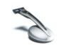Подарочный набор Bolin Webb X1, бритва X1 серебристо-черная, подставка X1 серебристая - Nozhikov.ru