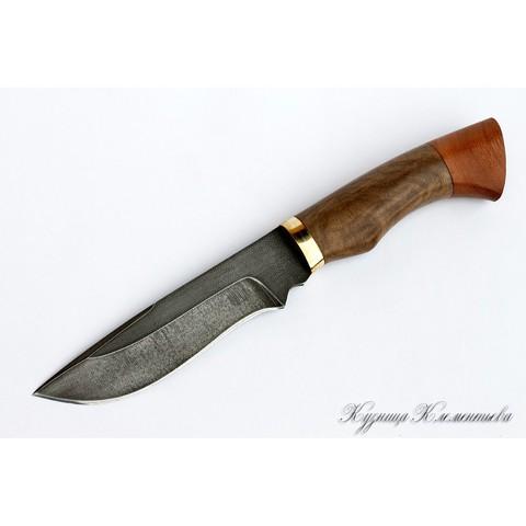 Нож из алмазной стали «Волк» падук, орех - Nozhikov.ru