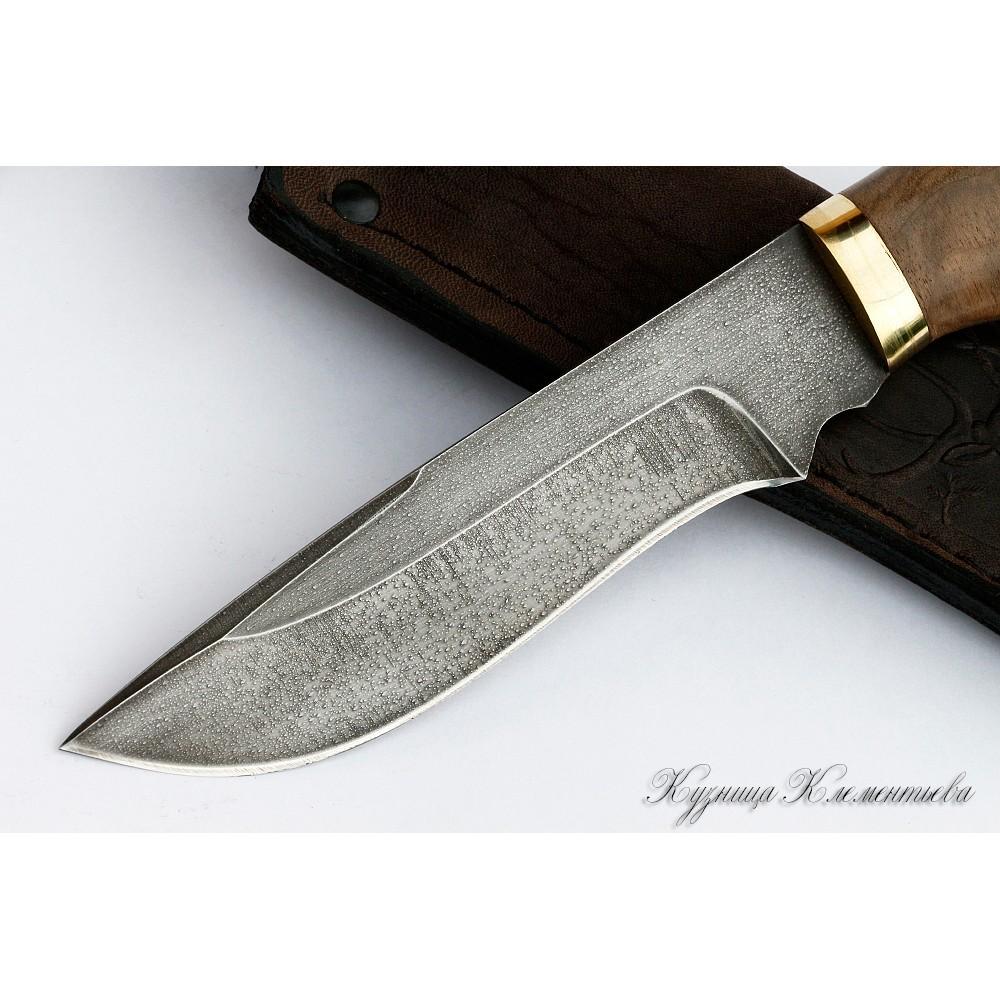 Фото 3 - Нож из алмазной стали «Волк» падук, орех от Noname