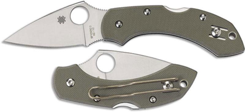 Складной нож Spyderco DragonflyРаскладные ножи<br>Модель SPYDERCO DRAGONFLY это компактный, но уверенный в себе крепыш. Нож имеет компактные размеры и небольшой вес, что делает его отличным претендентом на роль ежедневного EDC ножа. Такой нож удобно носить в кармане летних брюк или рубашки. Клинок ножа имеет интересную геометрию, которая позволяет ножу быть резучим и ломовитым одновременно. Для ношения ножа используется фирменная клипса бренда, изготовленная из стальной проволоки. Нож оснащен отверстием на клинке для моментального открывания одной рукой.<br>